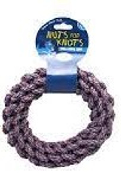 """Soft and safe on gums and teeth Durable, tightly twisted, cotton rope Perfect long lasting chew toy Prevents unwated chewing and encourages natural play Approx size - 20x20x5cm/8"""""""