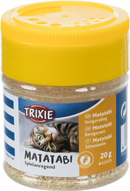 MAtabi powder is a potent cat attractant. Ideal for sprinkling on to your cats toys and scratching surfaces 3 times more potent than catnip