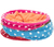 Fun and colourful fleece play tunnel Made from soft fleece material Rustling foil animates the cat to play Also suitable for small puppies and kittens