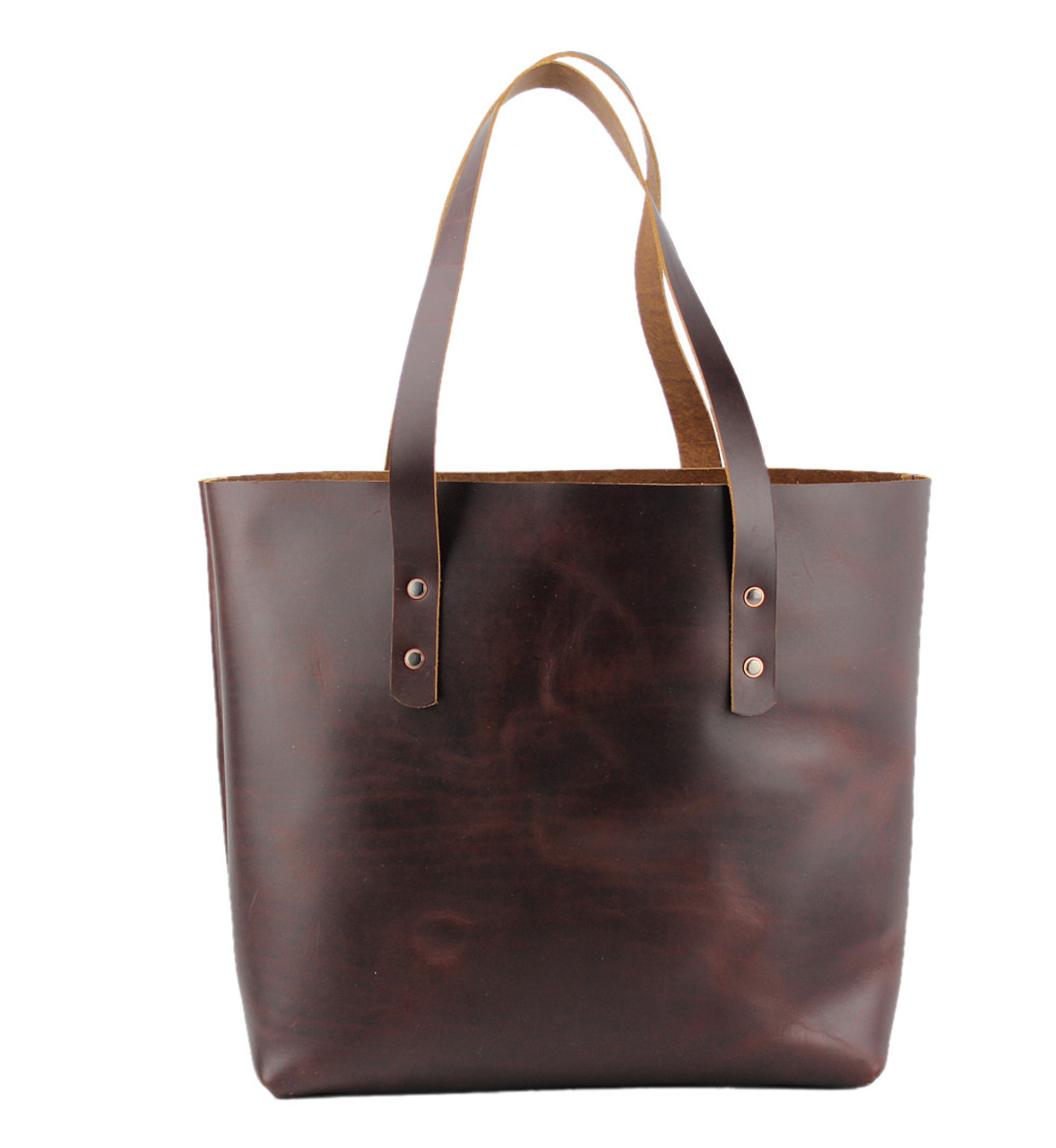 Tan Lincoln Tote Leather Handles /& Hardware Kit
