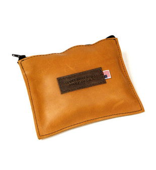 Medium Sunrise Leather Utility Pouch Made in the U.S.A.