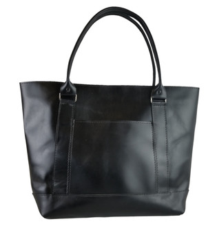 The Westfield Tote Bag - Black Excel Leather