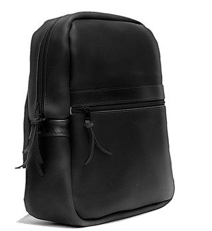 Copper Backpack Black Excel Leather