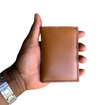NEW ! Thick Roughman NewYorker Wallet - Made with Full Grain Napa Excel Leather