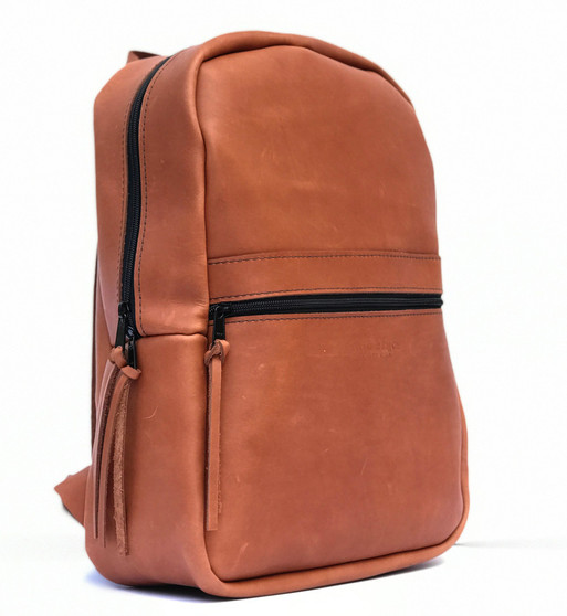 Copper Backpack in Almond Tan Excel Leather