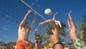 beach volleyball cozumel day pass