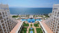 Aerial view of RIU Palace Pacifico in Puerto Vallarta.