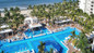RIU Palace Pacifico large pool & swim-up bar.