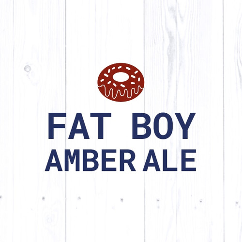 Fat Boy Amber Ale