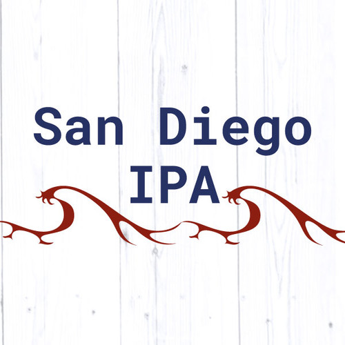 San Diego IPA - All Grain