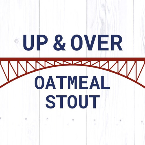 Up & Over Oatmeal Stout - All Grain