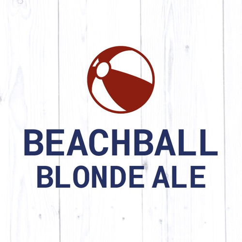 Beach Ball Blonde Ale - All Grain
