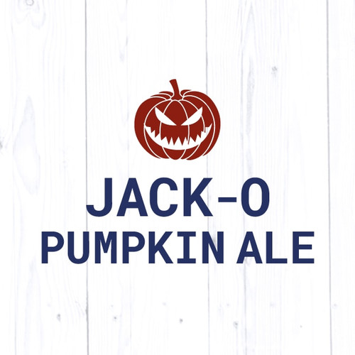 Jack-O-Pumpkin Ale - All Grain