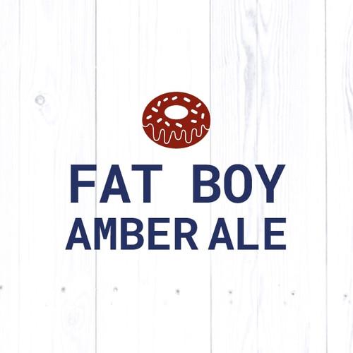 Fat Boy Amber Ale - All Grain