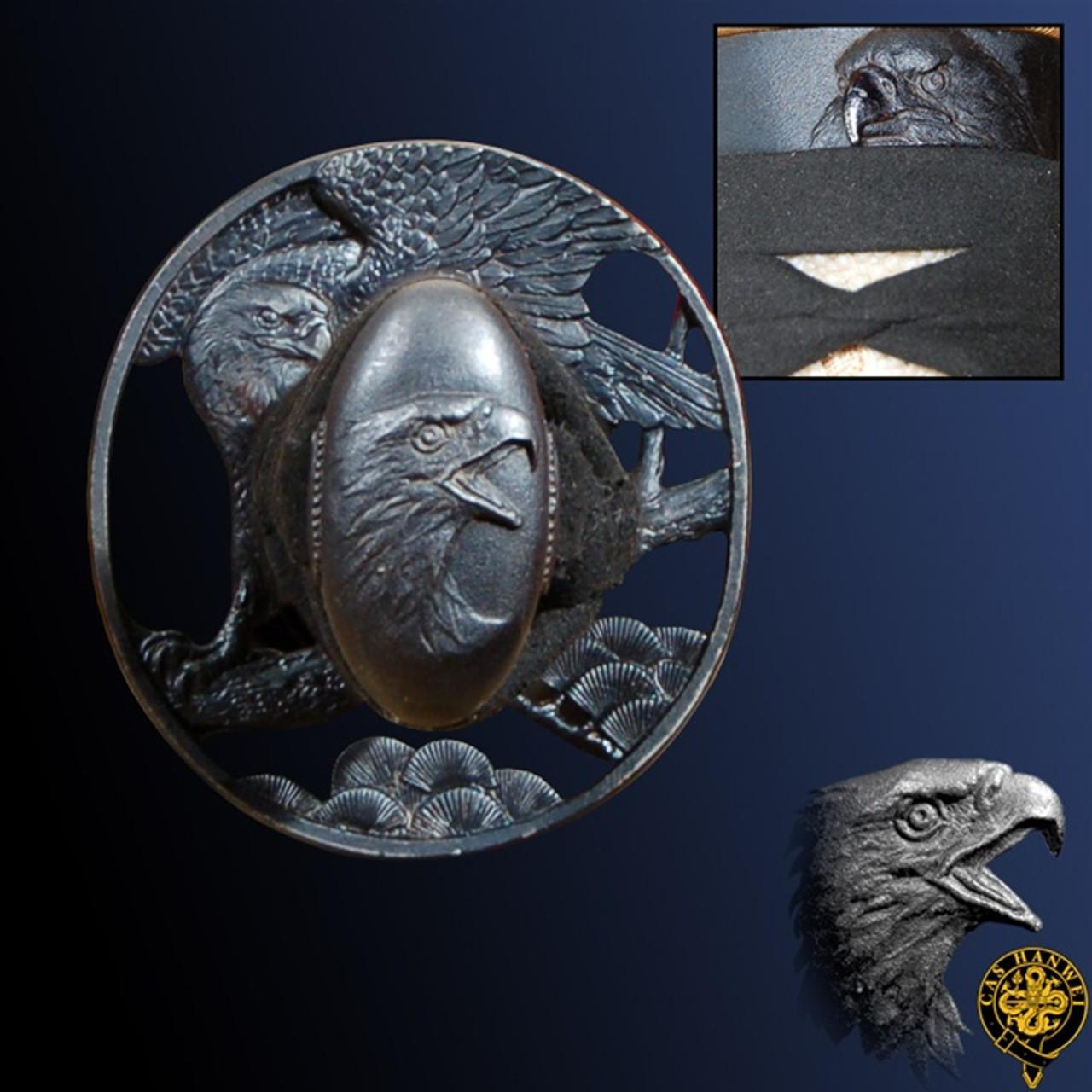 Raptor Katana, Unokubi Zukuri por Paul Chen / CAS Hanwei
