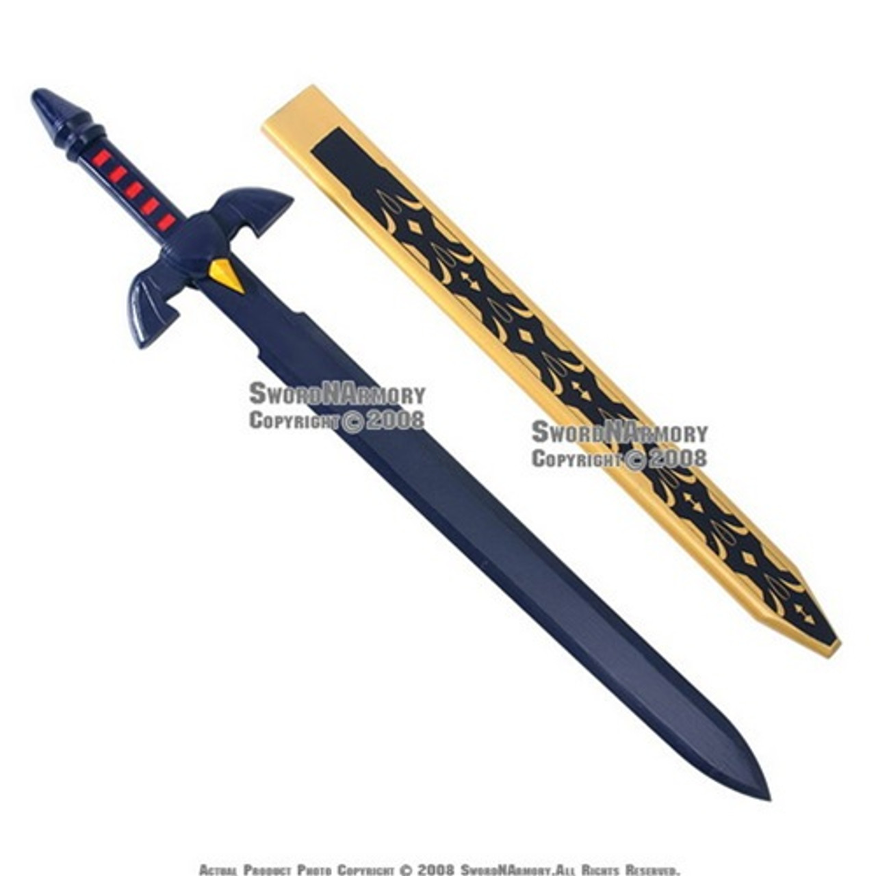 Zelda Twilight Princess Links Master Wooden Sword Scabbard