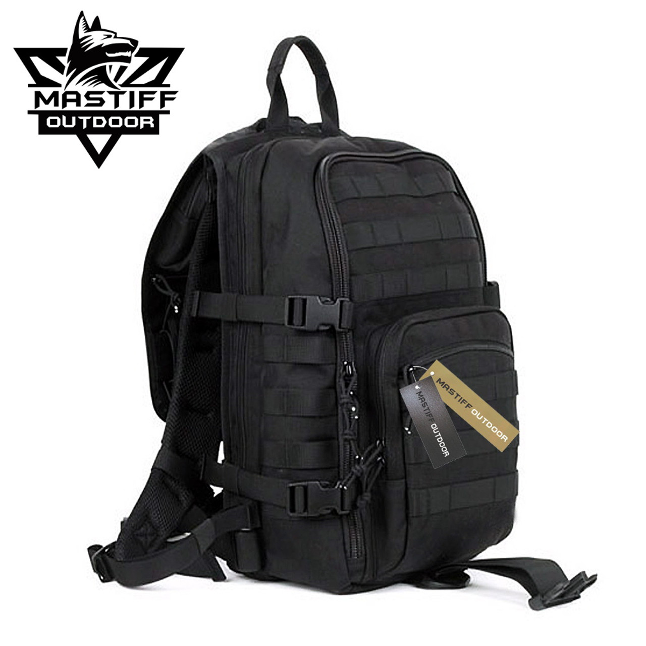 23b7927a8 Mastiff Outdoor Tactical Venture Backpack Military MOLLE Camping Rucksack -  Sword N Armory