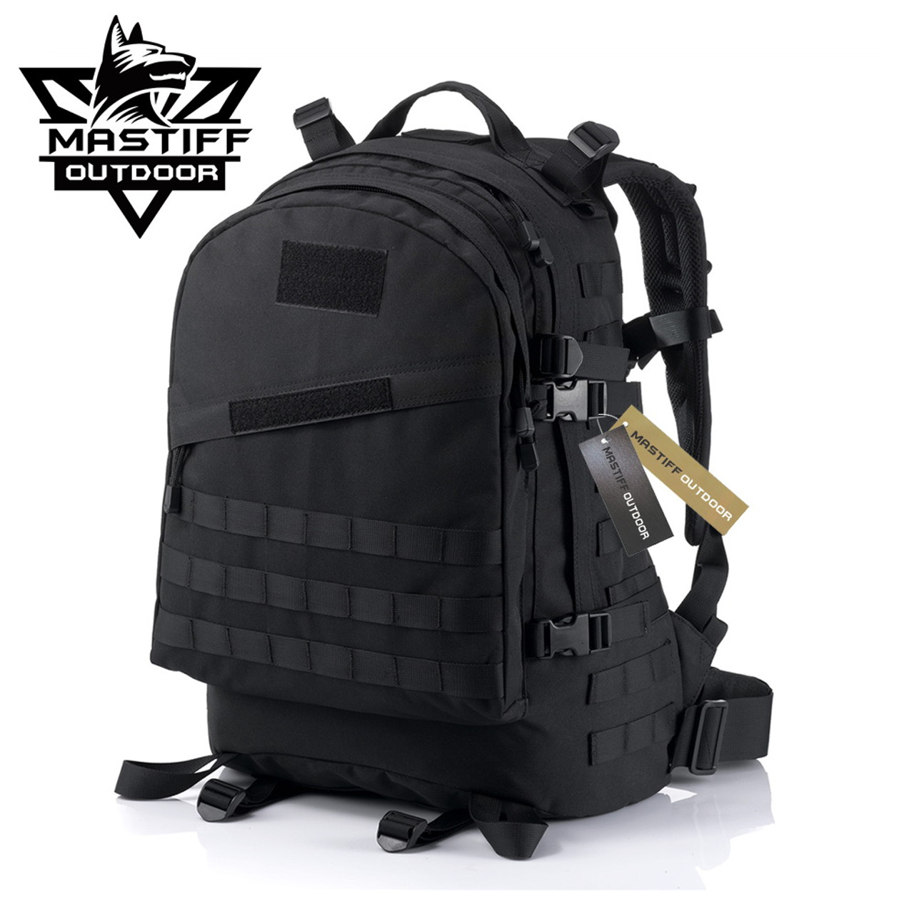 aa82a878a Mastiff Outdoor Tactical Everyday Backpack Military MOLLE Camping Rucksack  - Sword N Armory