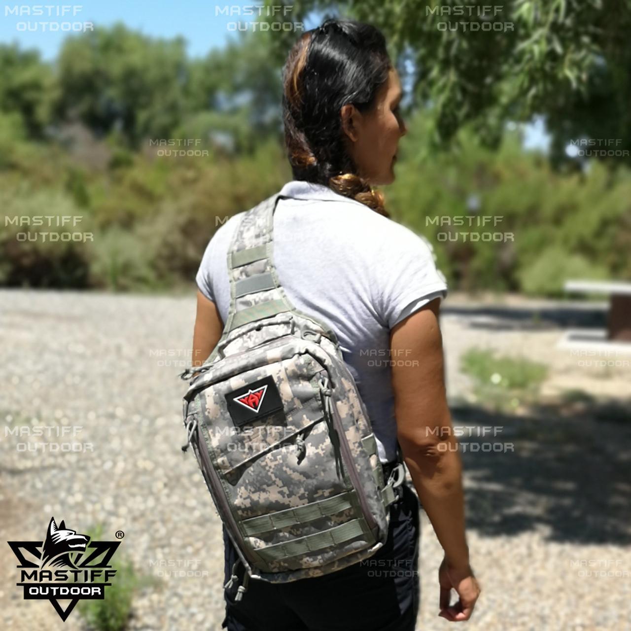 Nylon Outdoor Gear Rover Sling Pack Cross Body Backpack