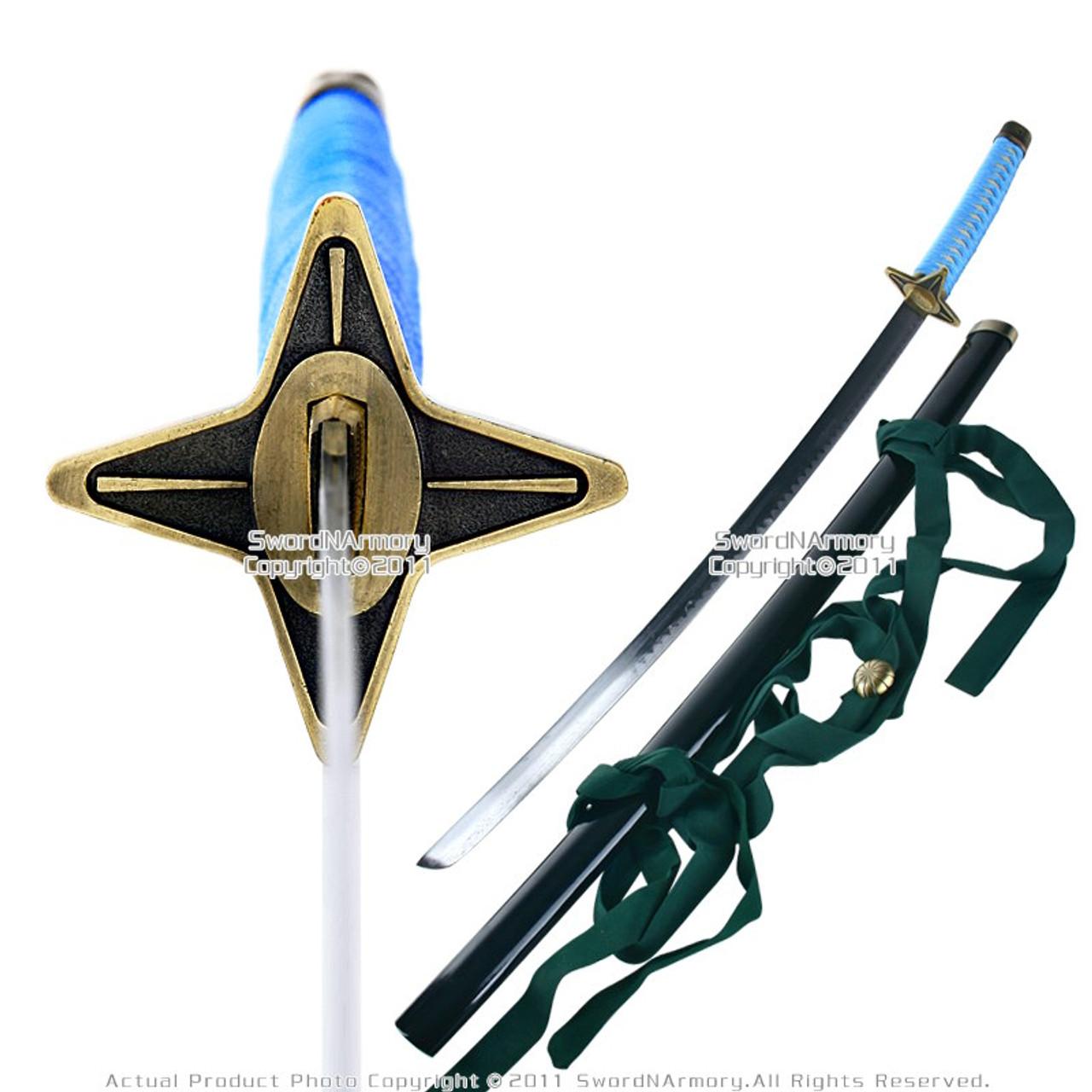 Anime Video Game Weapon Toshiro Hitsugaya Ice Ring Katana Samurai Sword