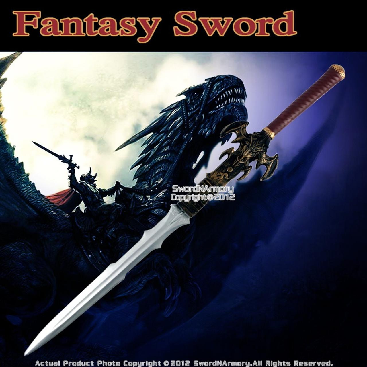 "42/"" Foam Padded Fantasy Medieval Long Sword Cosplay Costume Prop LARP New"