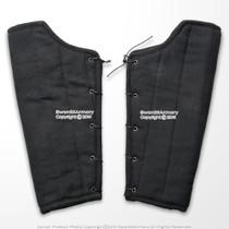 Details about  /Black Cotton Arm Protector Padded Bracers Medieval Renaissance Costume SCA LARP