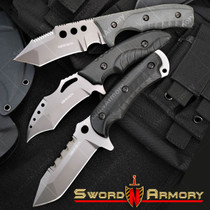 12/'/' Military Tactical Fixed Blade Dagger With ABS Hard Sheath