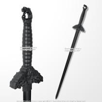 "34/"" Medieval Two Handed Polypropylene Western Martial Art Training Sword HEMA"