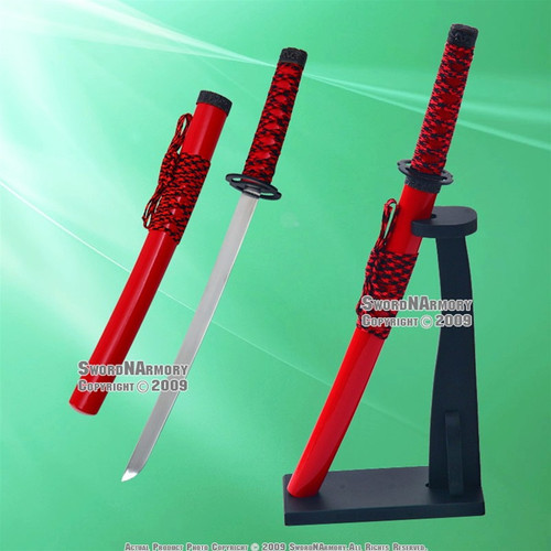 Musashi Warrior Samurai Katana Sword Letter Opener With Stand 12
