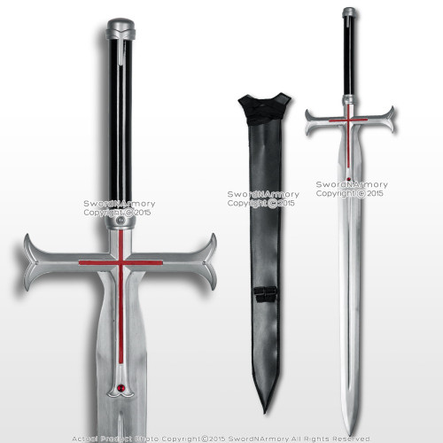 Anime Sword Art Online Alfheim Kayaba Akihiko Liberator Sword Video Game Costume