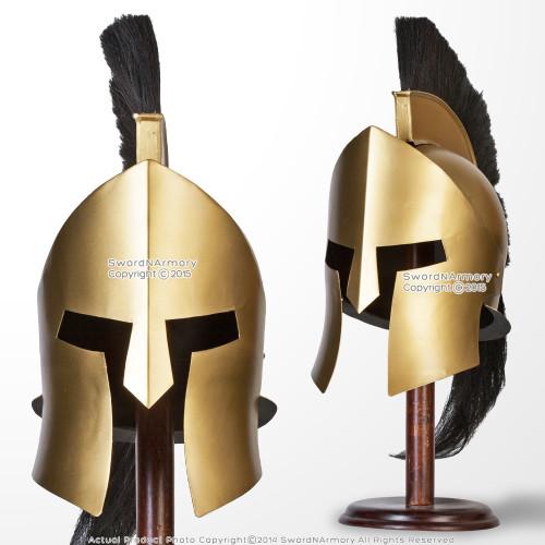 King Leonidas 300 Greek Spartan Trojan Warrior Helmet LARP Collectible Replica 1