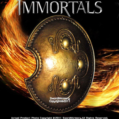 Officially Licensed Immortals Movie Theseus Shield Poly Resin