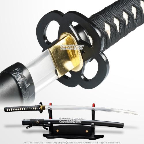 """Musha 39"""" Handmade 1045 Steel O kissaki Katana Samurai Cutting Sword Sharp Blade"""