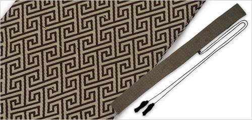 Japanese Sword Bag - Fret Pattern by Paul Chen / CAS Hanwei