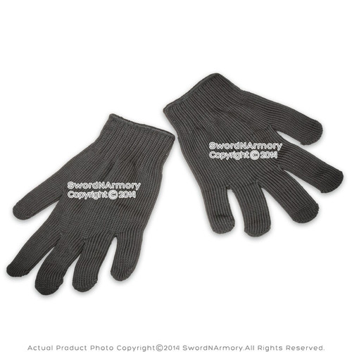 A Pair of Cut Resistant Safety Gloves for Sword Knife Maintenance