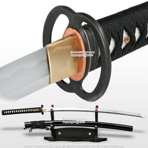 Ryujin T10 Clay Tempered Steel Handmade Japanese Style Samurai Katana Sword