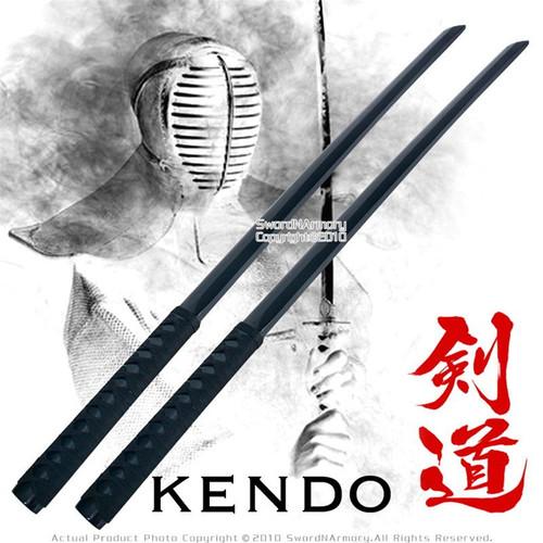 """39 """" Set of 2 Katana Wooden Bokken Practice Sword Kendo"""