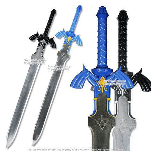 Black Link Master Zelda Sword Twilight Princess Fantasy Dagger with Plaque