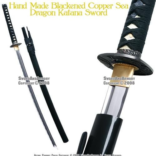 Handmade Musashi Dragon Katana Sword Sharp 1