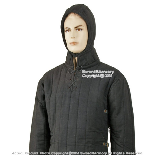 Medieval Gambeson Cloth Type 3 Padded Armour LARP SCA WMA Arming Jacket