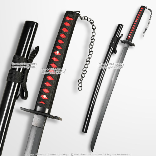 "42"" Bleach Officially Licensed Ichigo Cutting Moon Katana Anime Foam Sword"