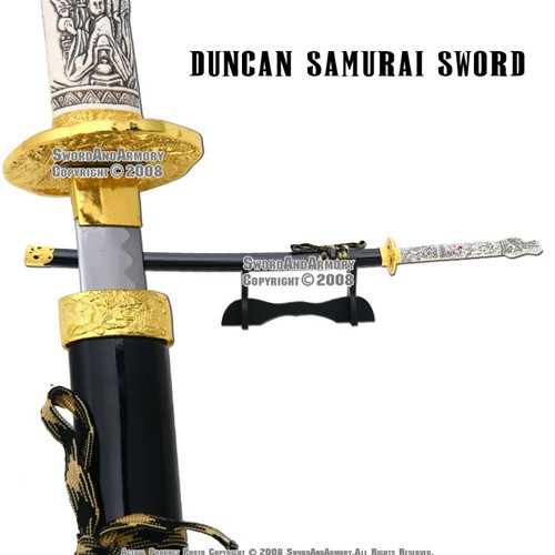 Highlander 3 Duncan Macleod Dragon Samurai Katana Sword
