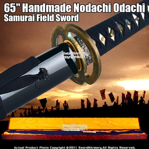 "65"" Long Handmade Nodachi Odachi Samurai Field Sword Katana"