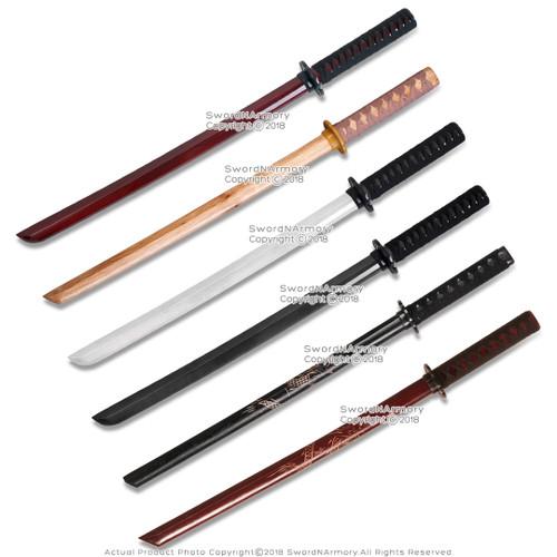 Wooden Wakizashi Size Bokken Bokuten Samurai Training Sword
