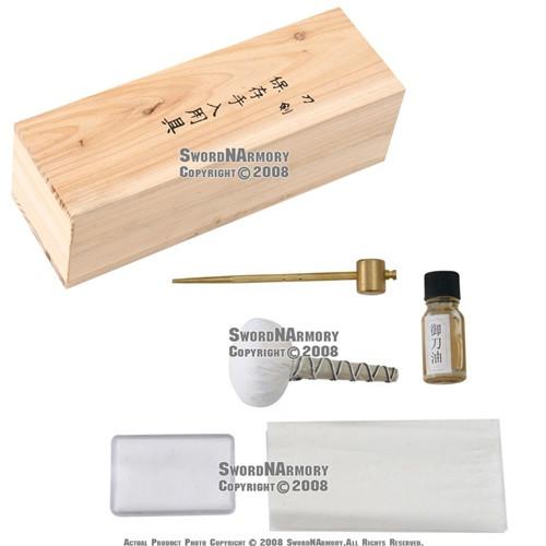 Japanese Samurai Katana Sword Maintenance Cleaning Kit