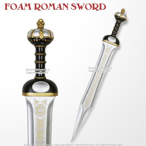 "32"" Foam Roman Crown Gladius High Density Imperial Legion Centurion  Larp Cosplay Sword"