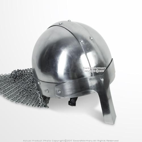 Medieval Saxon Nasal Helmet LARP Costume Cosplay Renaissance Reenactment