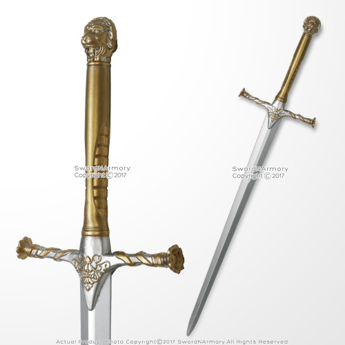 "42"" Games Of Thrones Officially Licensed HBO Box Jaime Lannister Foam Sword LARP"