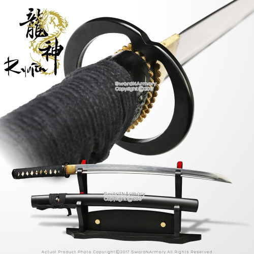 Unsharpened Practice Training Wakizashi Iaido Iaito Sword DH 1060 Spring Steel