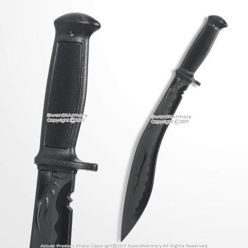 "Gurkha Kukri Polypropylene Training Dagger Combat Fighting Sword Machete 24"""